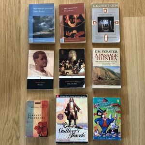 British & European Literature Book Set
